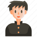 avatar, college, education, man, people, school, schoolboy icon
