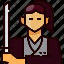 japan, people, person, ronin, samurai, sword, weapon
