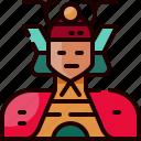 avatar, japan, japanese, people, person, samurai, warrior icon