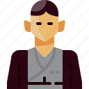 avatar, cloths, japan, man, people, person, traditional icon