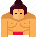 avatar, japan, japanese, people, person, sport, sumo icon