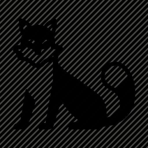 animal, fox, fur, japanese, japanese fox, tail, wildlife icon
