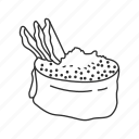 food, japanese, japanese food, rice, roll, seafood, sushi icon