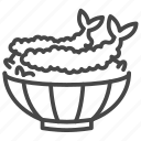 food, japan, japanese, tempura icon