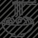 food, japan, japanese, noodle, ramen, udon icon