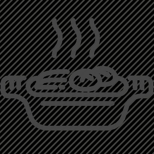 food, hot pot, japan, japanese, sukiyaki icon