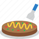 food, japan, japanese, meal, okonomiyaki, restaurant icon