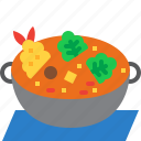 boiled, food, japan, japanese, meal, nabe, restaurant icon