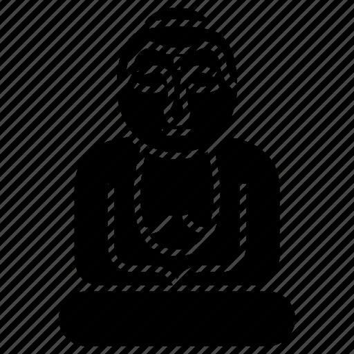 bronze statue, great buddha, historic monument, iconic landmark, japanese temple icon