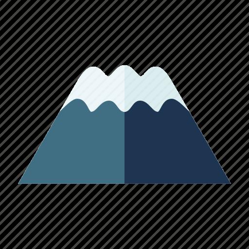 iconic landmark, mount fuji, natural wonder, summit, symbolic icon