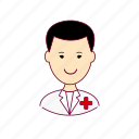 enfermeiro, japan, japanese, job, nurse, profession, professional, profissão icon