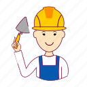 .svg, chefe de obra, japan, japanese, job, maison, pedreiro, profession, professional, profissão icon