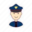 .svg, japan, japanese, job, police officer, policial, polícia, profession, professional, profissão icon