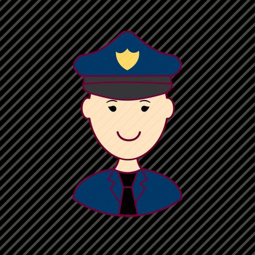 .svg, japan, japanese, job, police officer, policial, polícia, profession, professional, profissão icon