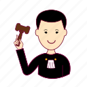 .svg, japan, japanese, job, judge, juíz, profession, professional, profissão icon
