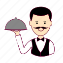 garçom, japan, japanese, job, profession, professional, profissão, waiter icon