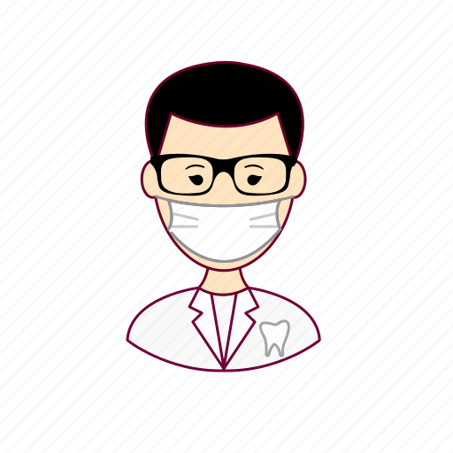 dente, dentist, dentista, japan, japanese, job, profession, professional, profissão, tooth icon