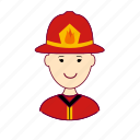 .svg, bombeiro, firefighter, fireman, japan, japanese, job, profession, professional, profissão icon