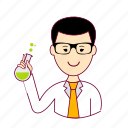 .svg, cientista, japan, japanese, job, profession, professional, profissão, scientist icon