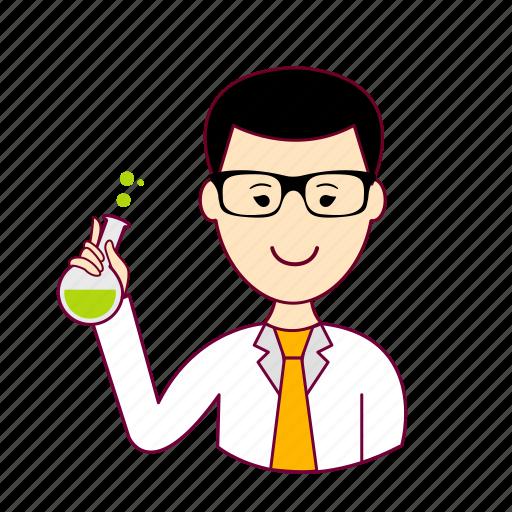 cientista, japan, japanese, job, profession, professional, profissão, scientist icon