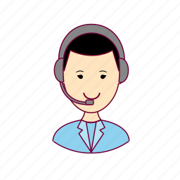 .svg, japan, japanese, job, profession, professional, profissão, telemarketing icon