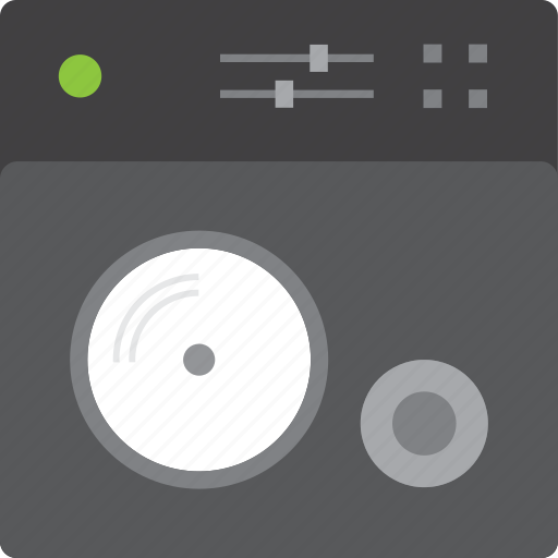 dj, mix, mixing, music, record, soung, vinyl icon