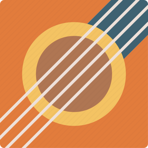 Acoustic, audio, guitar, instrument, music, singing, sound icon - Download on Iconfinder