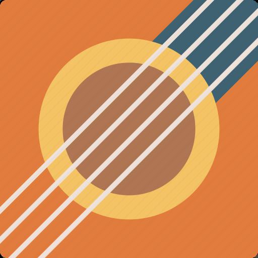 acoustic, audio, guitar, instrument, music, singing, sound icon