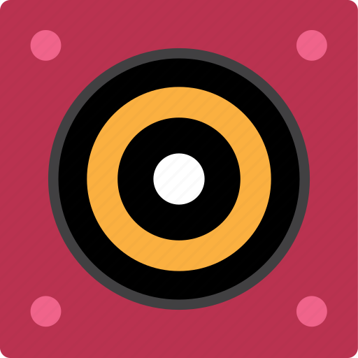 audio, bass, monitor, sound, speaker, subwoofer icon