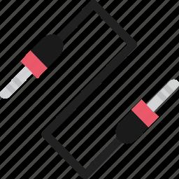 audio, cable, connector, jack, multimedia, music, plug icon