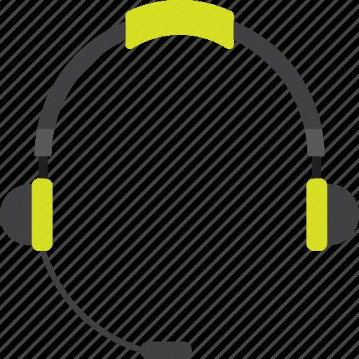audio, earphone, headphone, headset, listen, listening, sound icon