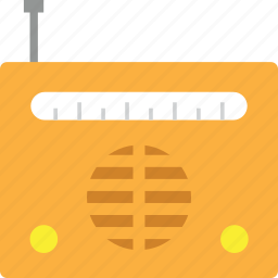 audio, device, equipment, music, radio, sound, station icon