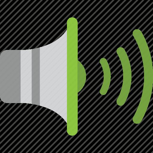 audio, high, media, multimedia, music, speaker, volume icon