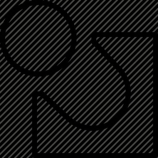 attributes, design, draw, illustrator, line, tool icon