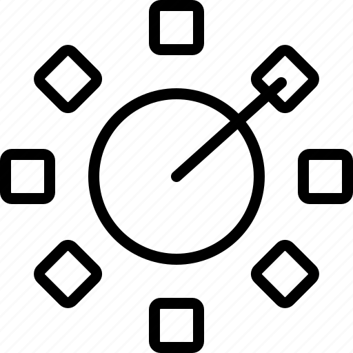 copies, design, draw, illustrator, line, rotate, tool icon