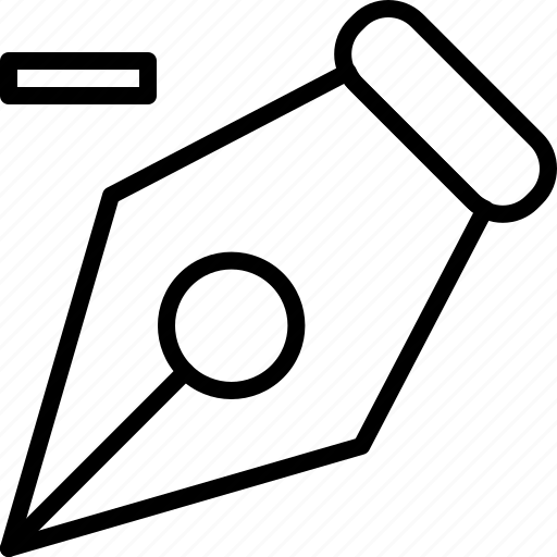 anchor, delete, design, illustrator, pen, point, tool icon