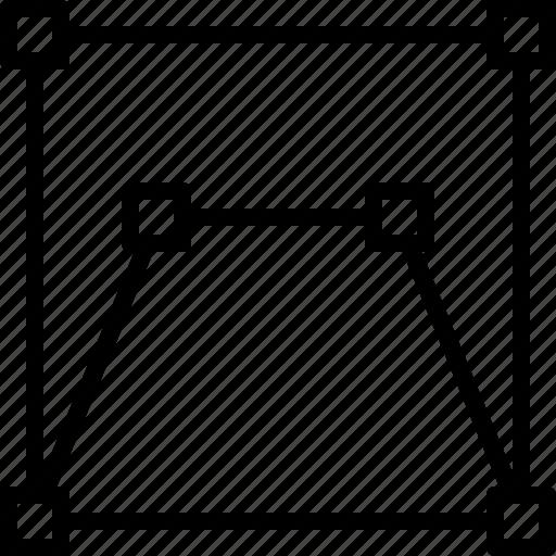 design, draw, illustrator, line, tool, transform icon