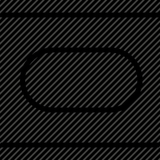adjust, align, center, design, regulate, size, vertical icon