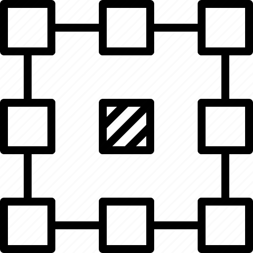 align, center, layout, line, pattern, point, refference icon