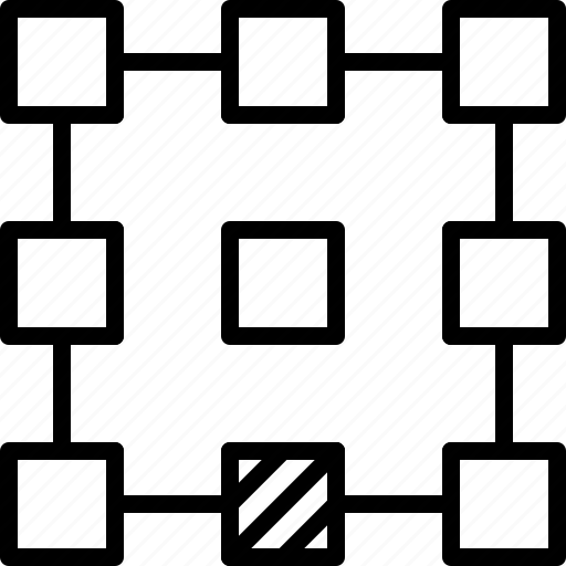 align, bottom, layout, line, pattern, point, refference icon
