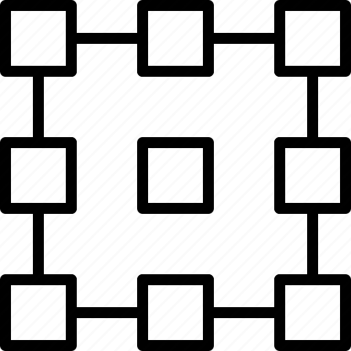 align, default, layout, line, pattern, point, refference icon