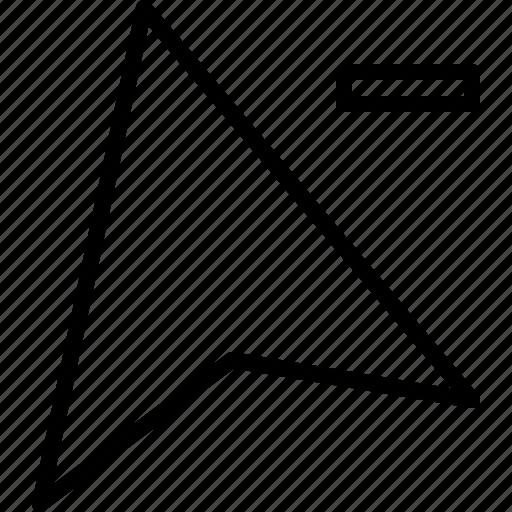 arrow, click, cursor, delete, deselect, mouse, pointer icon