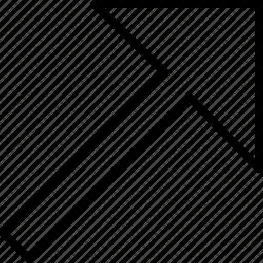 arrow, color, create, design, illustrator, shape, width icon