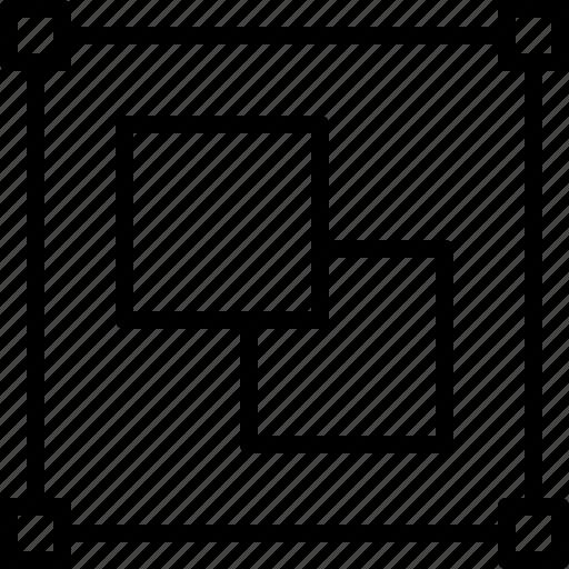 color, create, design, group, illustrator, width icon