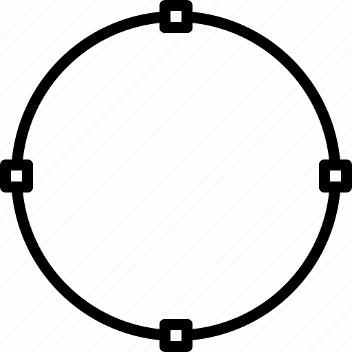 create, design, illustrator, joints, line, shape, width icon