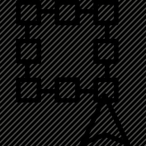 corner, create, design, edit, illustrator, line, width icon