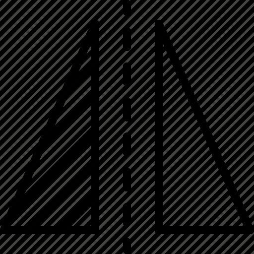 align, design, flip, horizontally, illustrator, layer, reflect icon