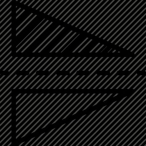 align, design, illustrator, layer, reflect, rotate, vertically icon