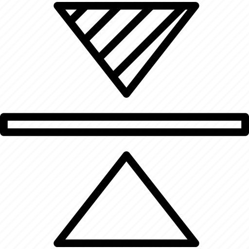 align, create, design, illustrator, increment, line, width icon