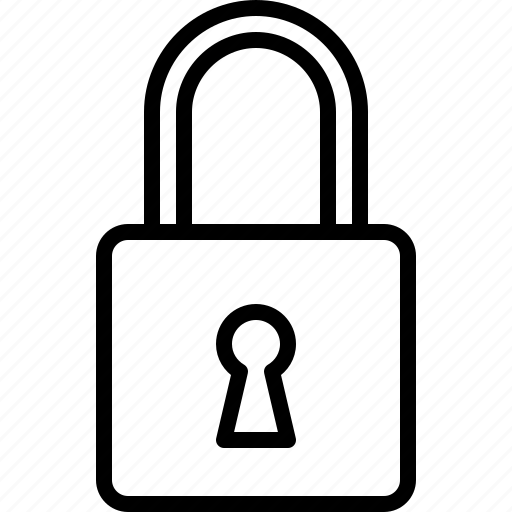 interaction, interface, lock, protection, secure, security icon
